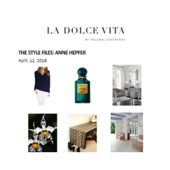 La Dolce Vita - April 2016