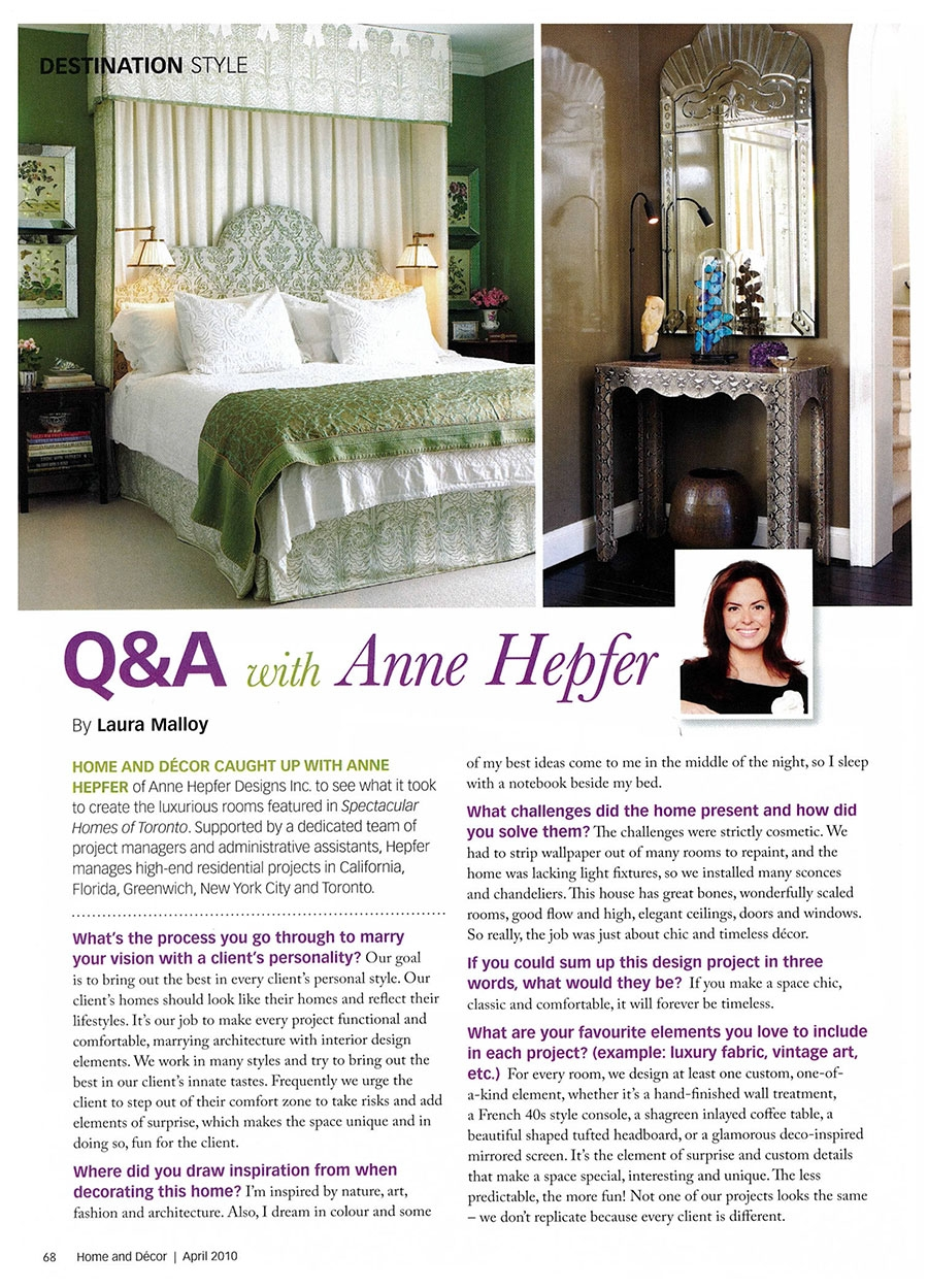 Q&A with Anne Hepfer